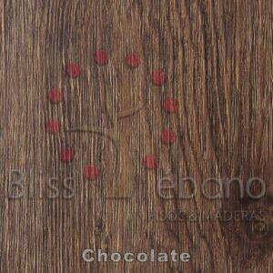 Piso de PVC Chocolate